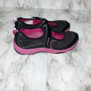 Sunset Black & Pink Athletic Mary Jane by VIONIC 7